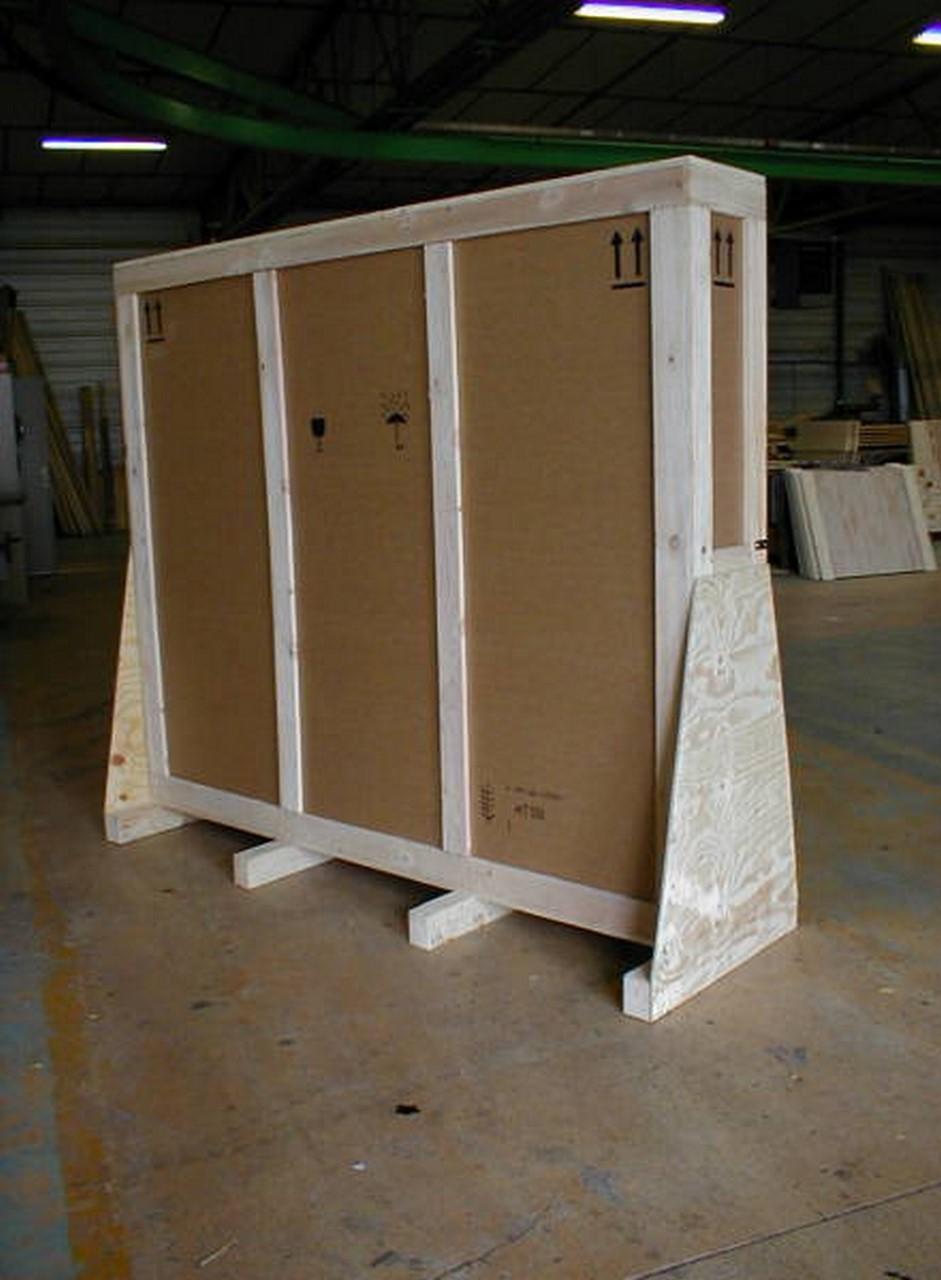 Caisse mixte bois carton sur mesure id al pour for Canisse sur mesure