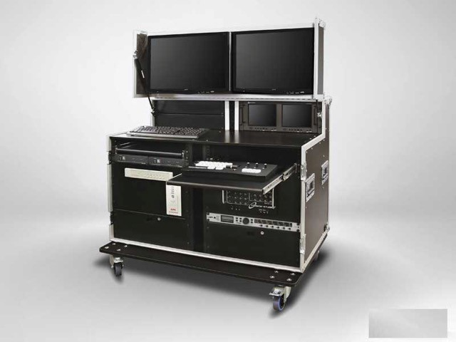 Flight-case Audio-visual working Station, JPEMBALL
