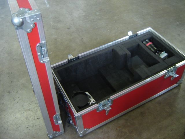 Flight-case for video projector, JPEMBALL