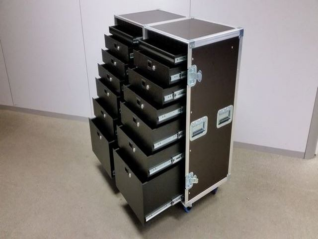 Double Flight-case with drawers, JPEMBALL