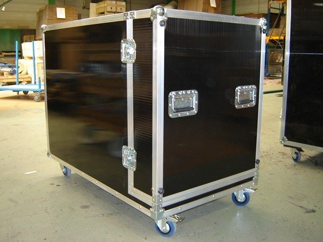 Baie flight-case en polycarbonate, JPEMBALL