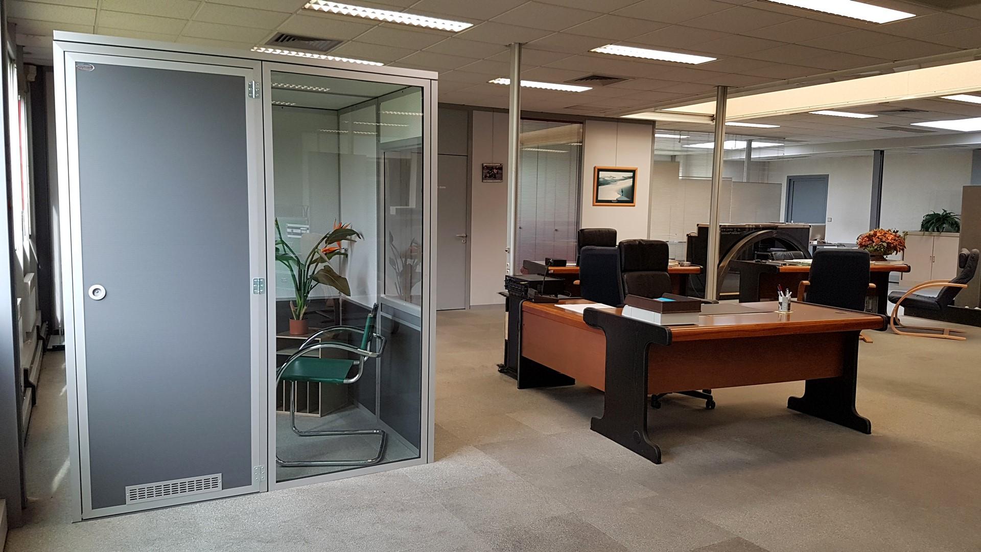 Polytcab bureau cabine à insonorisée démontable pour bureaux